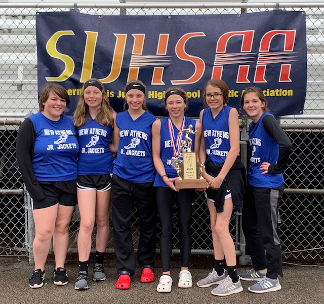 2019 SIJHSAA Class S Girls State Track 4th New Athens
