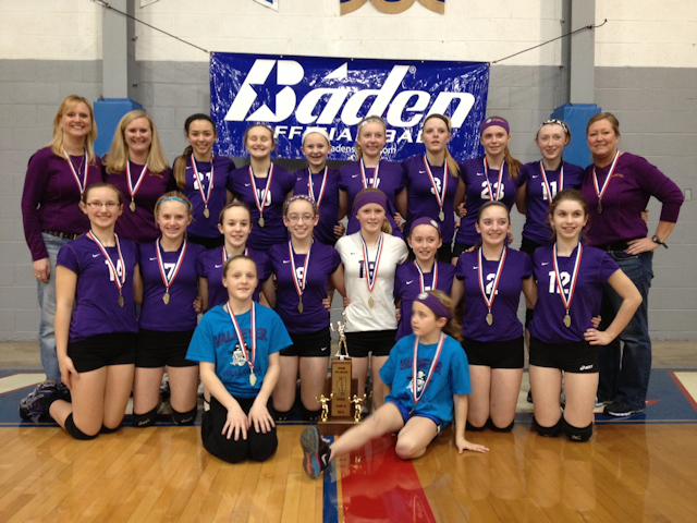 2013 Volleyball Class M 2nd - Valmeyer