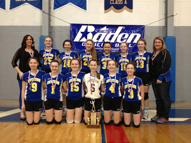 2013 Volleyball Class M 3rd - Aviston