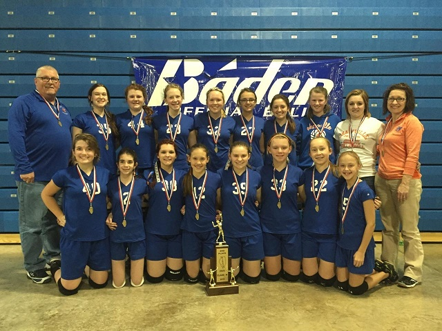 2016 Class M Volleyball 2nd Place Okawville