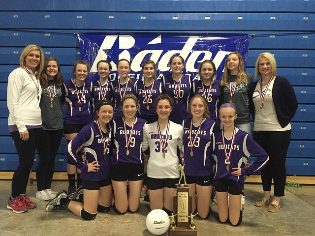 2016 Class M Volleyball State Champions Breese