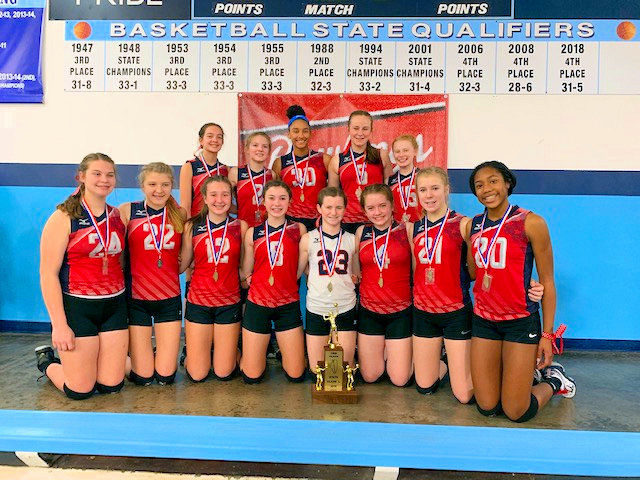 2019 SIJHSAA Class L Volleyball 3rd Massac County