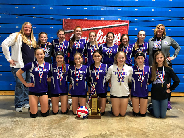 2019 SIJHSAA Class M Volleyball 1st Breese