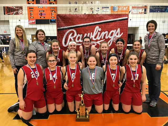2019 SIJHSAA Class S Volleyball 3rd Trinity Lutheran Stewardson