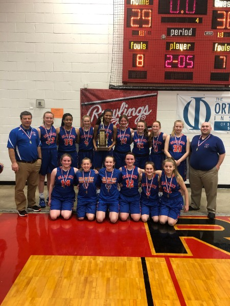Class M Girls Basketball Christopher 1st