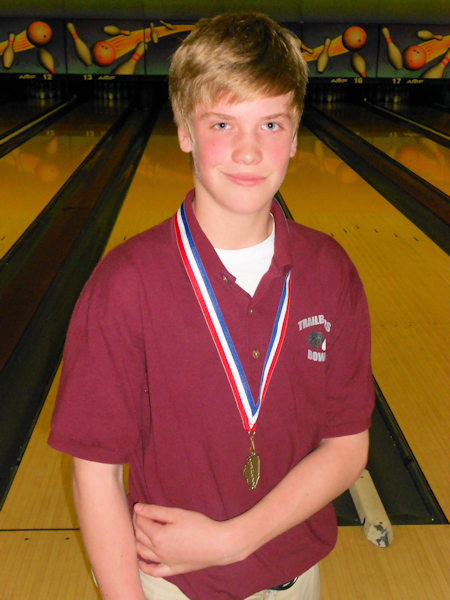 2012 Bowling - Boys State Champ - Clayton Hartman - Collinsville
