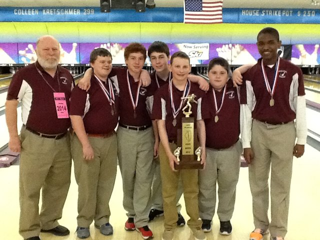 Bowling 1st Place Collinsville Middle School