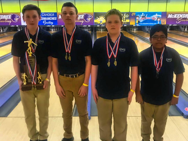 2019 Boys Bowling 2nd Grant