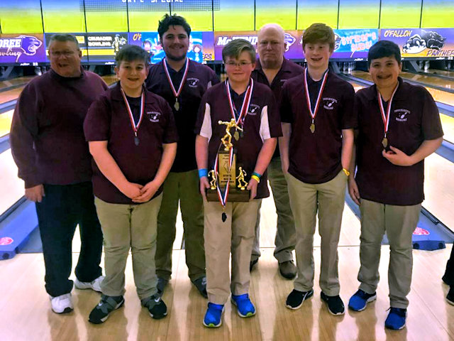 2019 Boys Bowling 3rd Collinsville