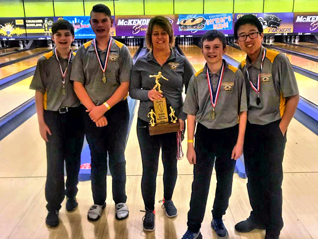 2019 Boys Bowling 4th Fulton