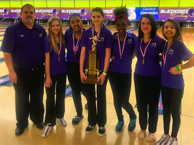 2019 Girls Bowling 1st Mascoutah