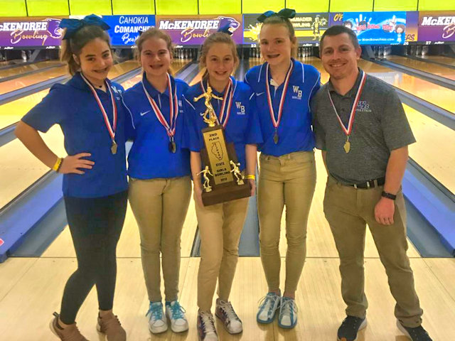 2019 Girls Bowling 2nd Wolf Branch
