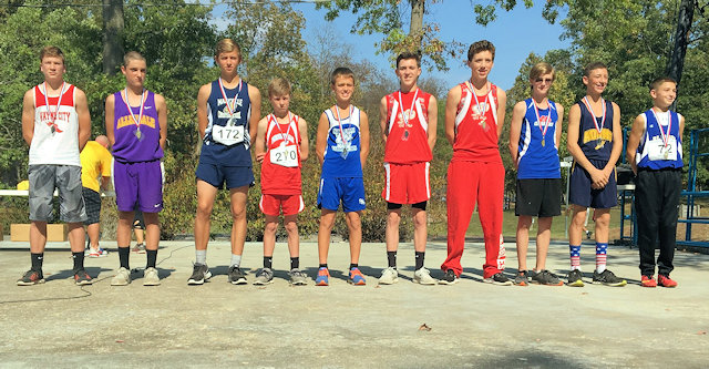 2017 Class S Boys Cross Country State Top 10 Individuals