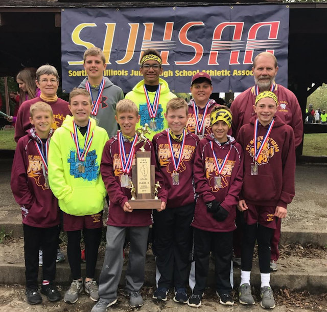 2018 SIJHSAA Class S Boys State Champions St. Marks Steeleville