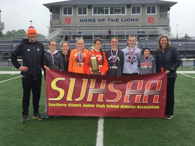 2019 SIJHSAA Class L Girls State Track State Champions Waterloo