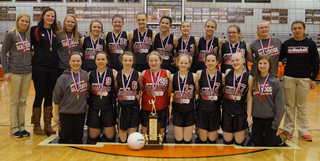 2013 Volleyball Class S 1st - Germantown